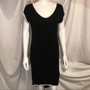 Forever21 Contemporary Midi TwoTone Dress